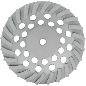 Lackmond 7 inch SegmentedTurbo Diamond Cup Wheel with 24 Segments and 5/8 inch... by Lackmond