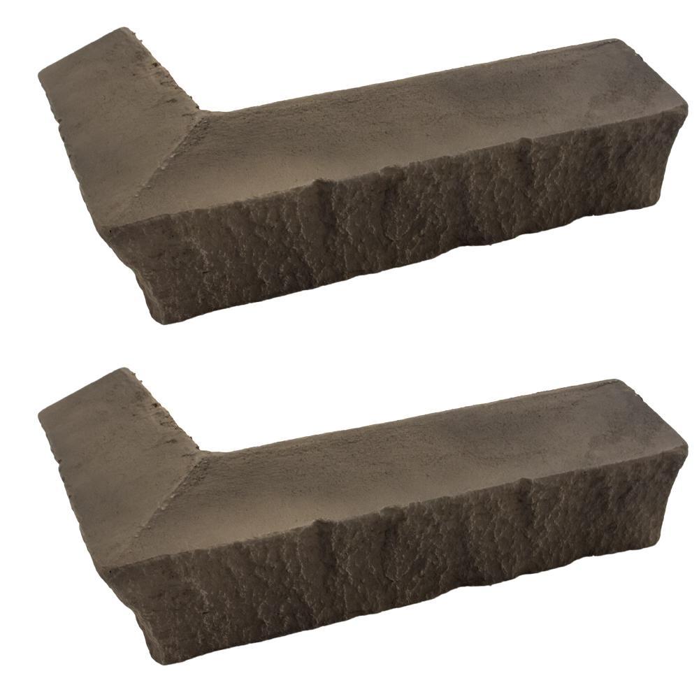 GenStone Stacked Stone 3-1/4 in. x 3-1/2 in. x 11-3/4 in....