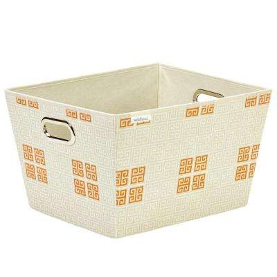 Large Polypropylene Grommet Tote in Cameo Key Cream