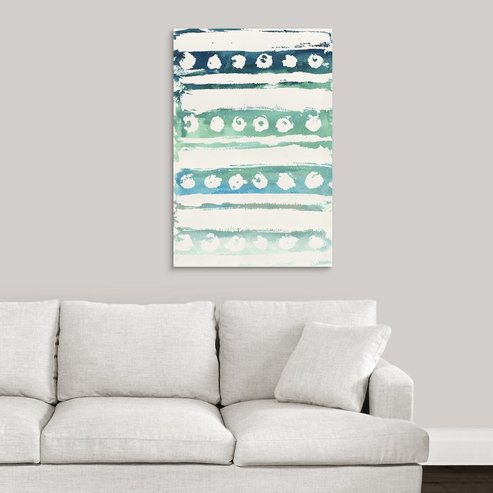 """Watercolor Pattern VI"" by  Elizabeth Medley Canvas Wall Art"