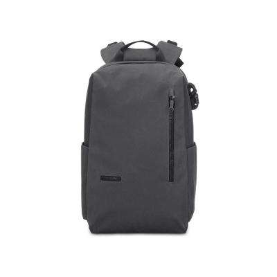 Intasafe 18 in. Charcoal Backpack with Laptop Compartment