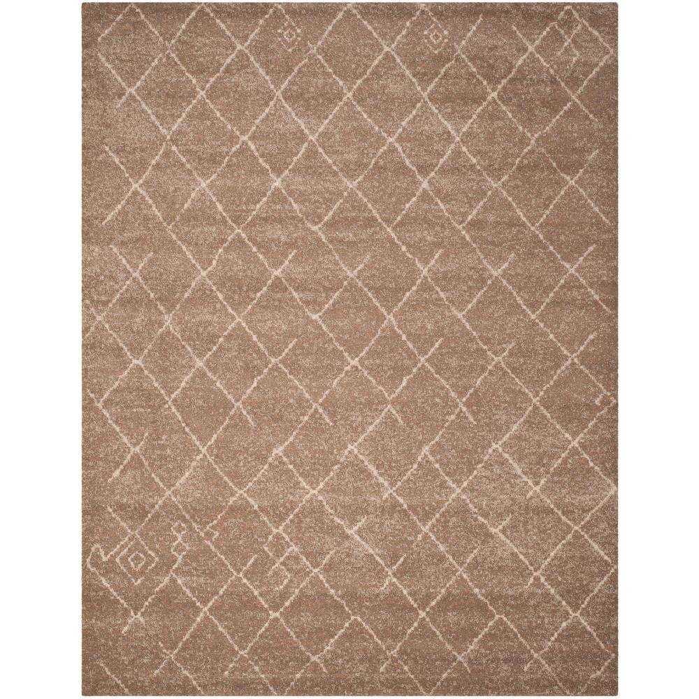 Safavieh Tunisia Brown 8 Ft X 10 Ft Area Rug Tun1511 Khv