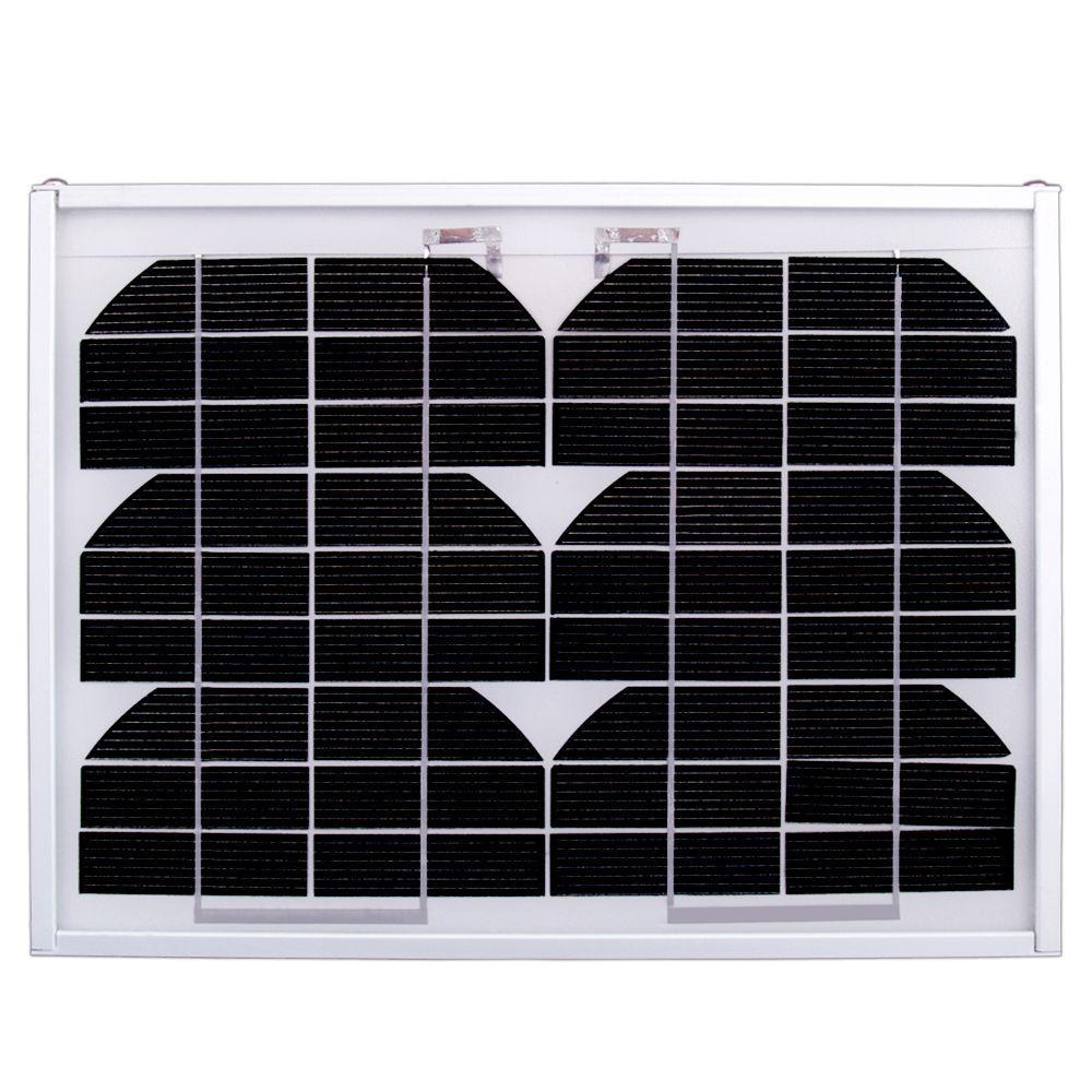5-Watt 12-Volt Monocrystalline PV Solar Panel
