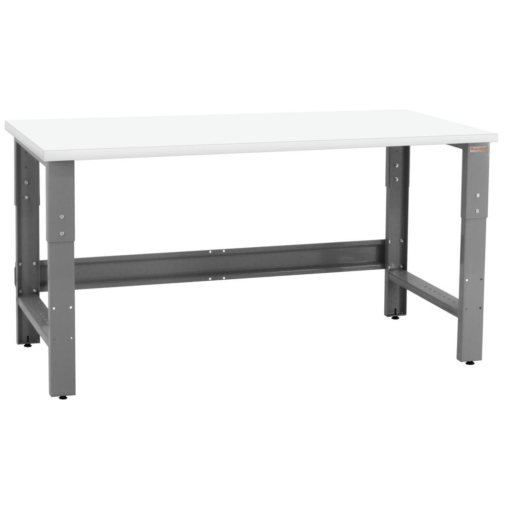 Wondrous Benchpro Roosevelt Series 2 5 Ft D X 6 Ft W Formica Plastic Laminate 1 200 Lbs Capacity Workbench Beatyapartments Chair Design Images Beatyapartmentscom