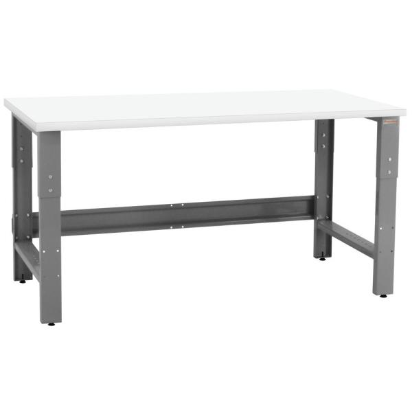 Roosevelt Series 30 in. H x 72 in. W x 30 in. D Formica Laminate Top, 1,200 lbs. Capacity Workbench