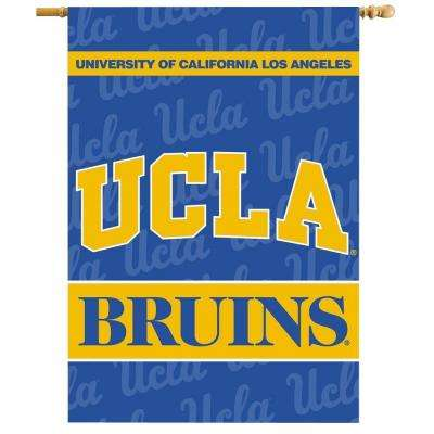 NCAA 28 in. x 40 in. UCLA 2-Sided Banner with Pole Sleeve