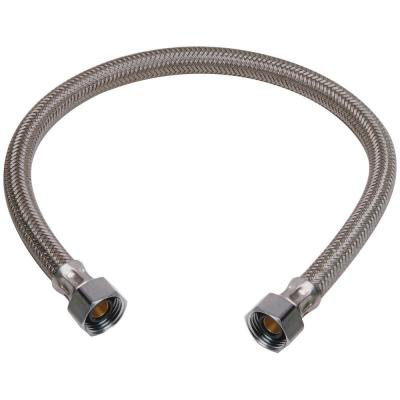 1/2 in. FIP x 1/2 in. FIP x 16 in. Braided Polymer Faucet Connector