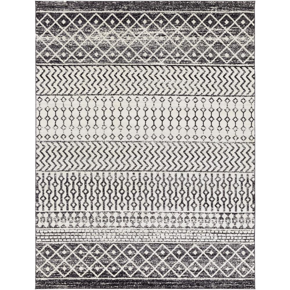 Artistic Weavers Laurine Black/White 6 ft. 7 in. x 9 ft. Area Rug was $345.0 now $165.82 (52.0% off)