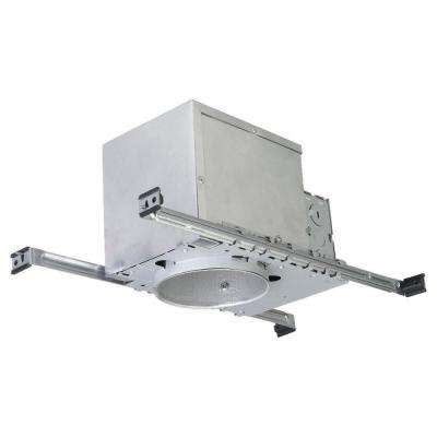 New Construction IC Airtight 4 in. Metallic Recessed Housing Kit