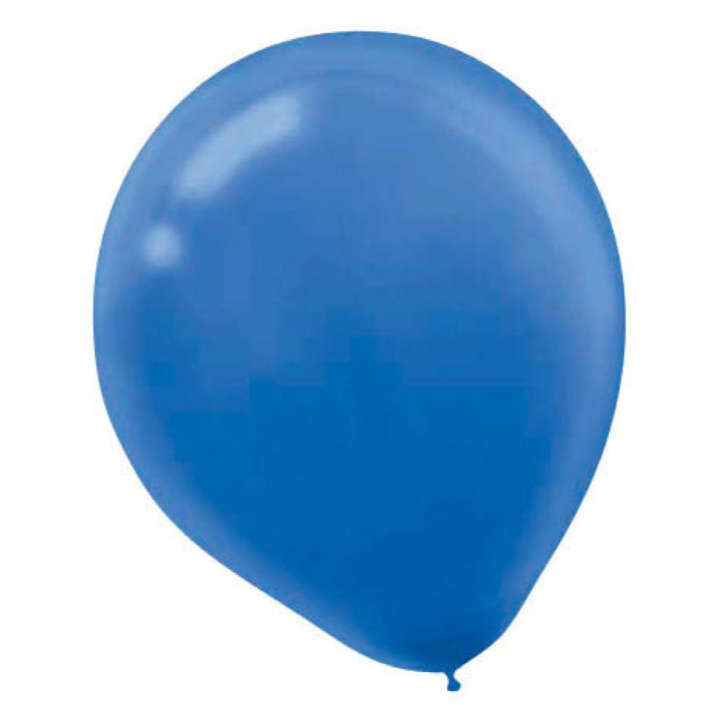 9 In Bright Royal Blue Latex Balloons 20 Count 18 Pack