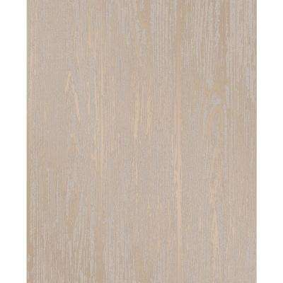 Enchanted Gold Woodgrain Wallpaper Sample