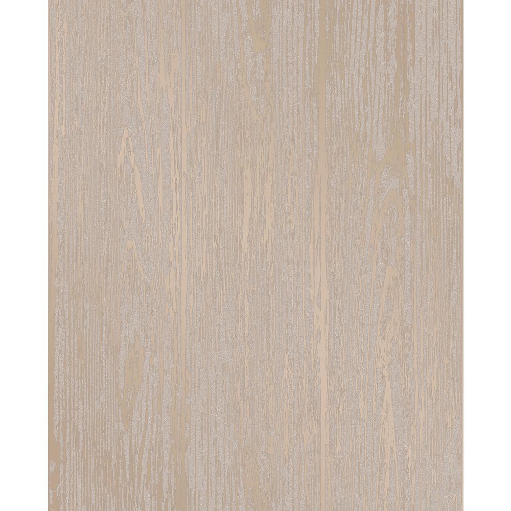 Decorline Enchanted Gold Woodgrain Wallpaper 2735-23346