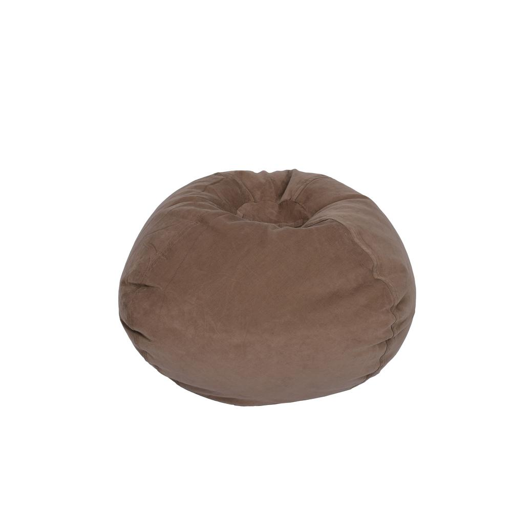 This Review Is From:Dark Taupe Corduroy Bean Bag
