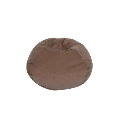 Dark Taupe Corduroy Bean Bag