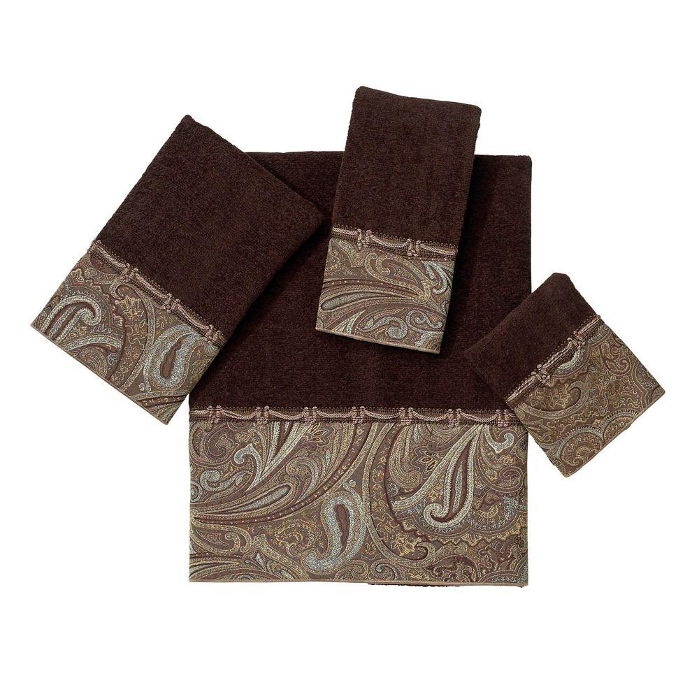 Avanti Linens Bradford 4-Piece Bath Towel Set in Java 01789S JAV