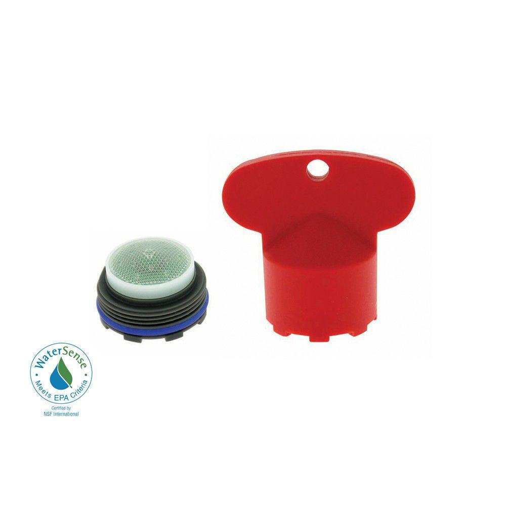 1.5 GPM Junior Size PCA Cache Water-Saving Aerator with Key