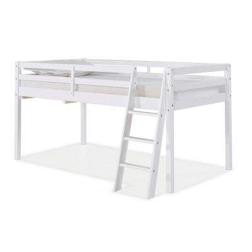 Roxy White Twin Junior Loft Bed