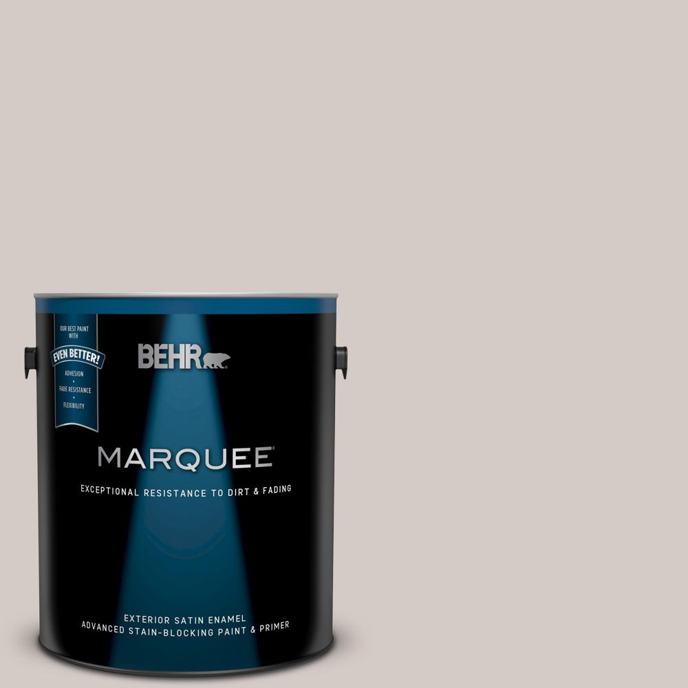 Behr Marquee 1 Gal Ppu18 09 Burnished Clay Satin Enamel Exterior Paint And