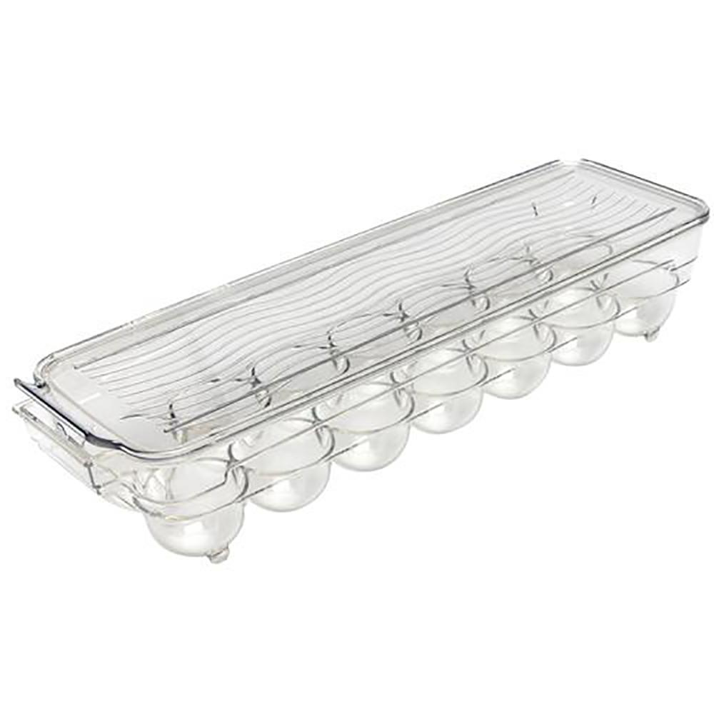 Egg Tray Holder with Lid (Holds 14-Eggs)
