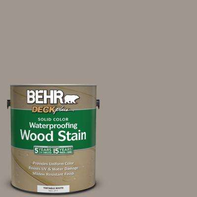 1 gal. #PPF-31 Pebbled Path Solid Color Waterproofing Exterior Wood Stain