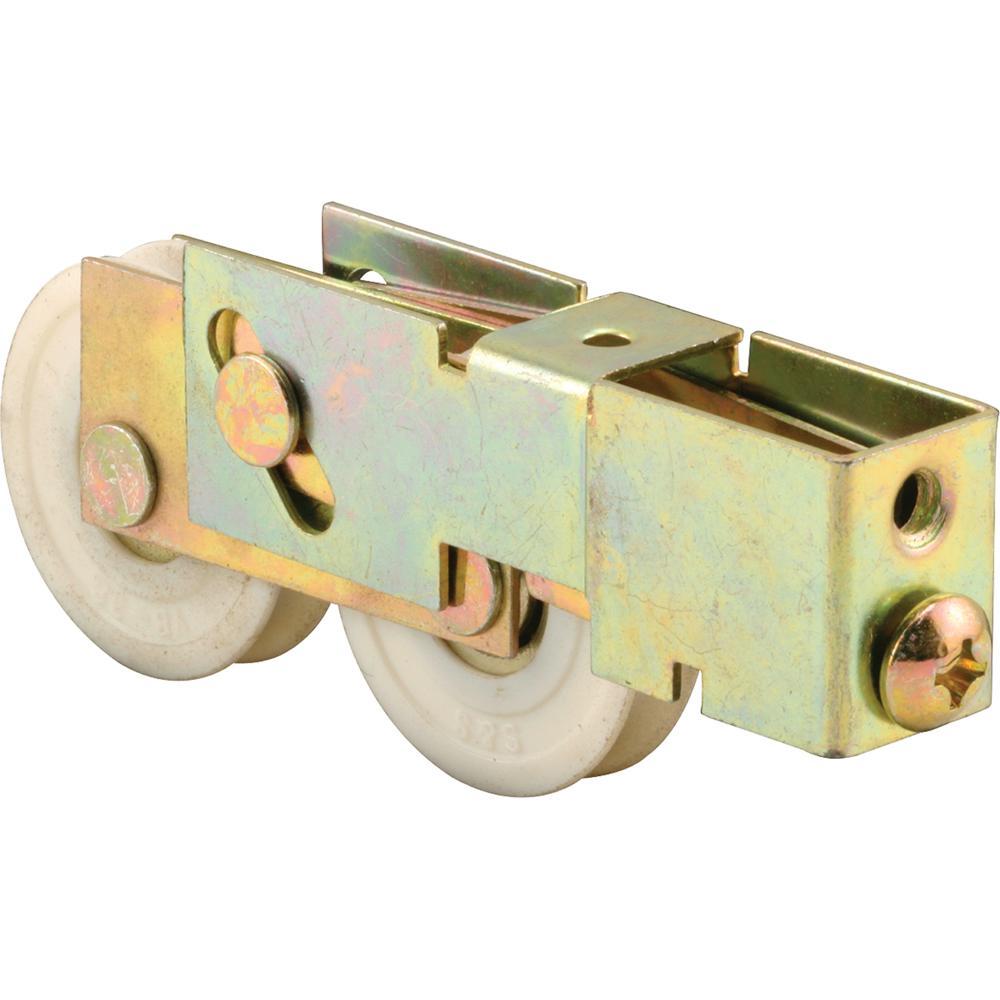1-1/2 in. Nylon Sliding Door Tandem Roller Assembly, Milgard