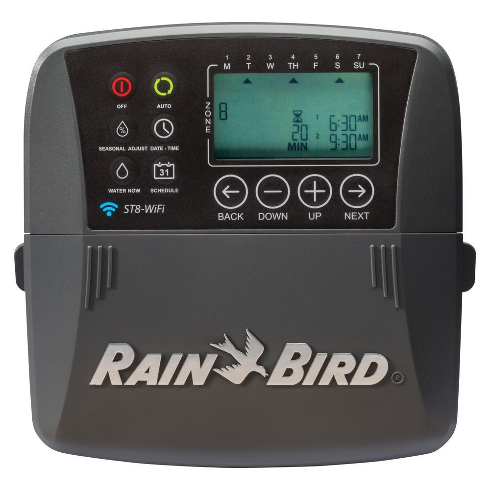 8-Zone Smart Irrigation Wi-Fi Timer