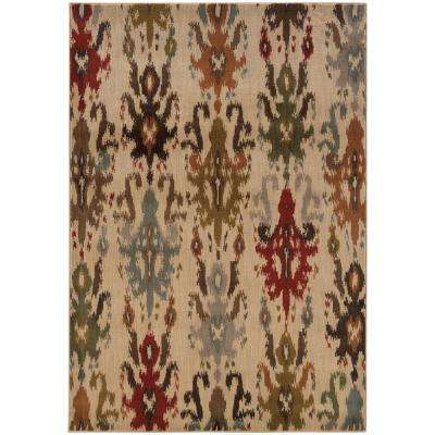 Vicenza Beige 10 ft. x 13 ft. Area Rug