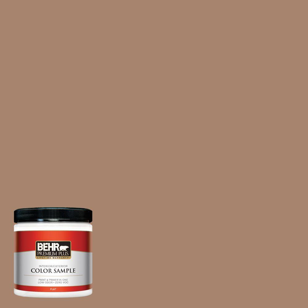 BEHR Premium Plus 8 oz. #ECC-59-1 Antique Chest Interior/Exterior Paint Sample