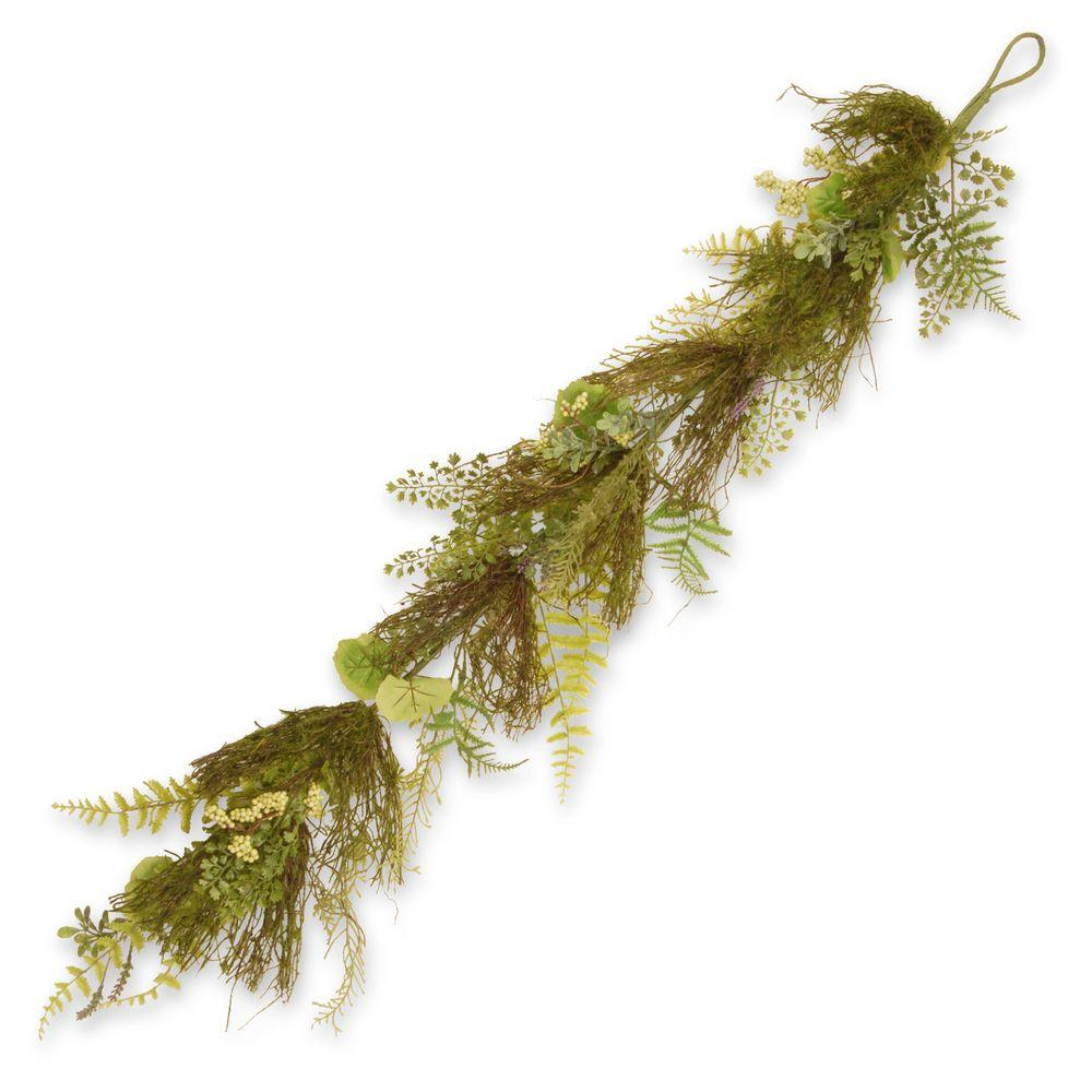 45 in. Garden Accents Fern and Lavender Garland
