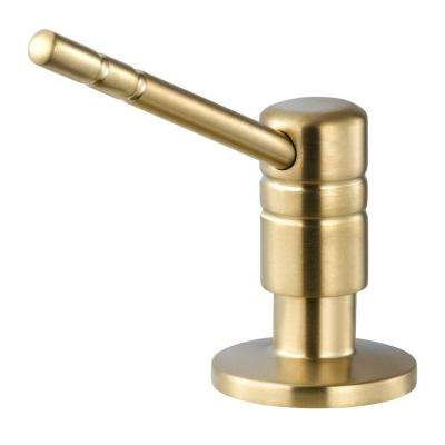 Endura II Counter-Mounted Soap Dispenser in Brushed Brass