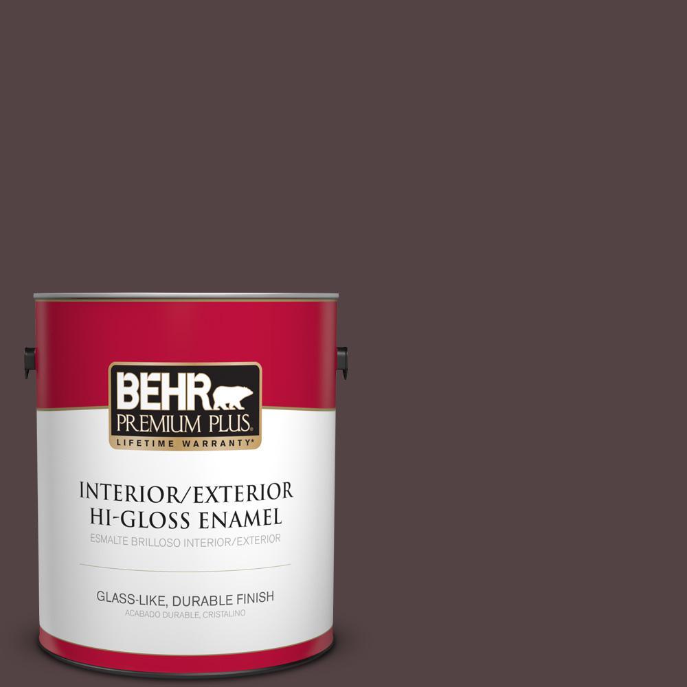 1 gal. #PPU1-01 Folklore Hi-Gloss Enamel Interior/Exterior Paint