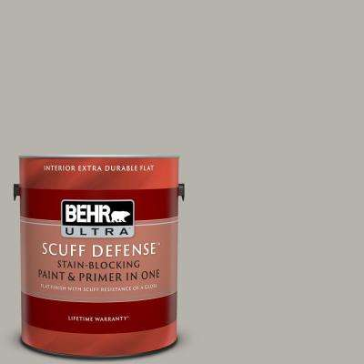 1 gal. #PPU25-07 Arid Plains Extra Durable Flat Interior Paint and Primer in One