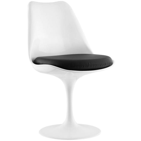 Lippa Black Dining Vinyl Side Chair