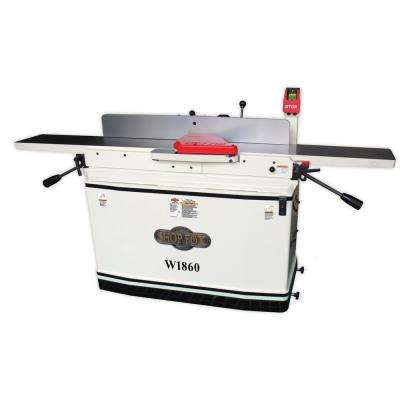 8 in. x 76 in. Parallelogram Jointer with Spiral Cutterhead and Mobile Base