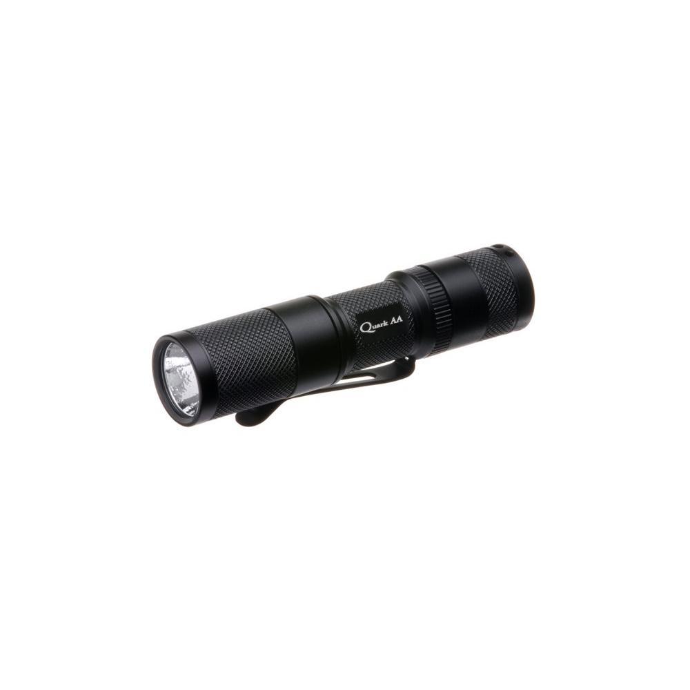 4Sevens Quark AA Black Flashlight-DISCONTINUED