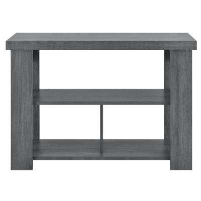 Vantage Gray Oak Console Table