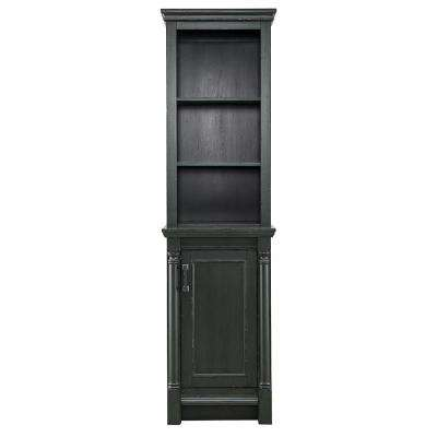 Greenbrook 20 in. W x 72 in. H Linen Cabinet in Vintage Forest Green