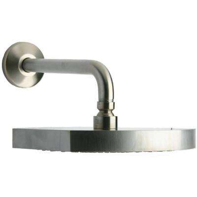 Novella 1-Spray 8 in. Showerhead in Brushed Nickel