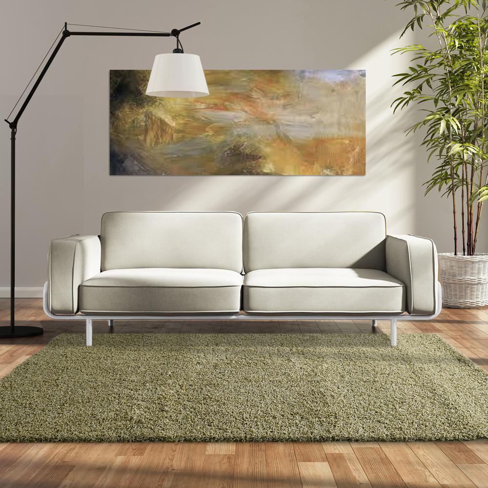 Custom Shag Oregano 6 ft. x 8 ft. Indoor Area Rug