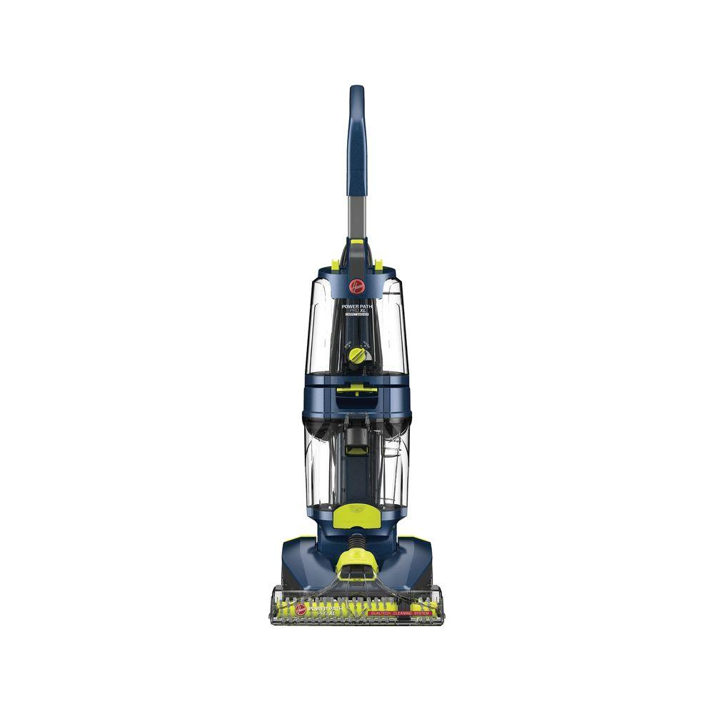 hoover power path pro xl upright carpet cleaner fh51101 the home depot. Black Bedroom Furniture Sets. Home Design Ideas