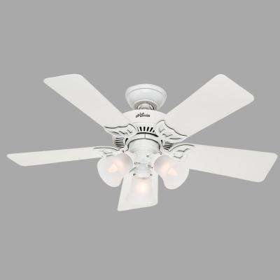 Southern Breeze 42 in. Indoor White Ceiling Fan