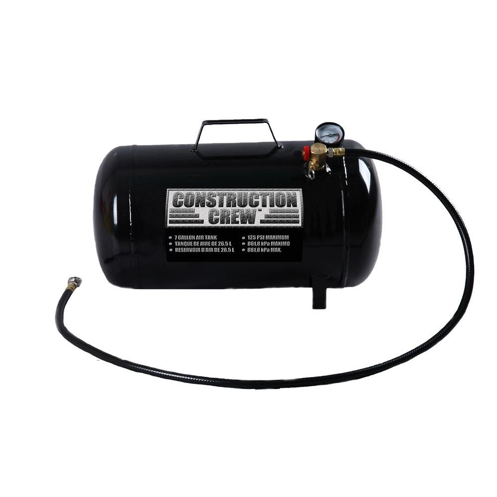 Construction Crew 7-Gal. Portable Air Tank-DISCONTINUED