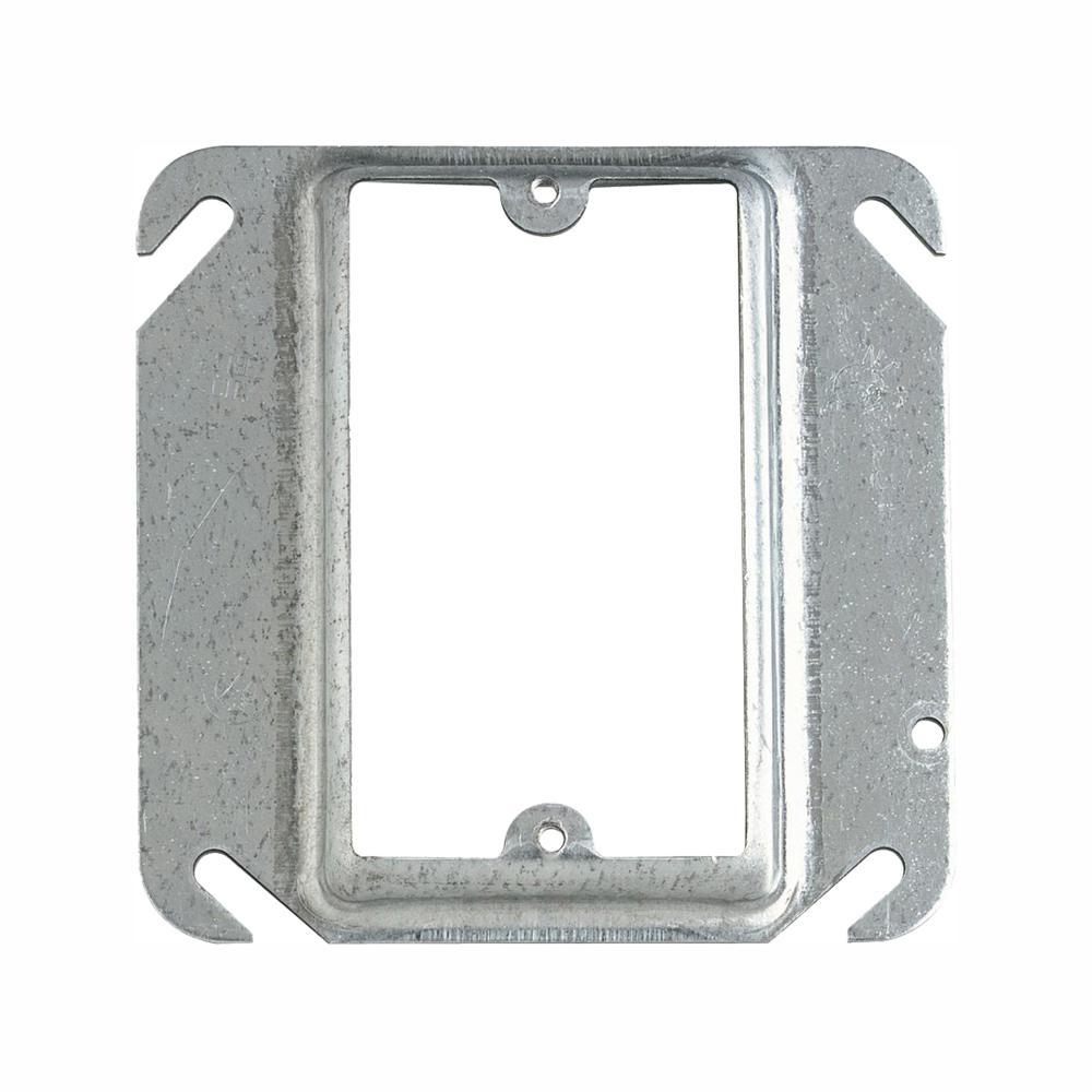 Steel City 1-Gang Square Metal Mud Ring (Case of 25)