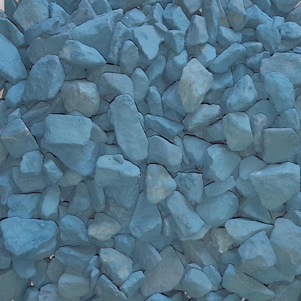 0.90 cu. ft. 75 lbs. 3/4 in. Lagoon Blue Landscaping Gravel