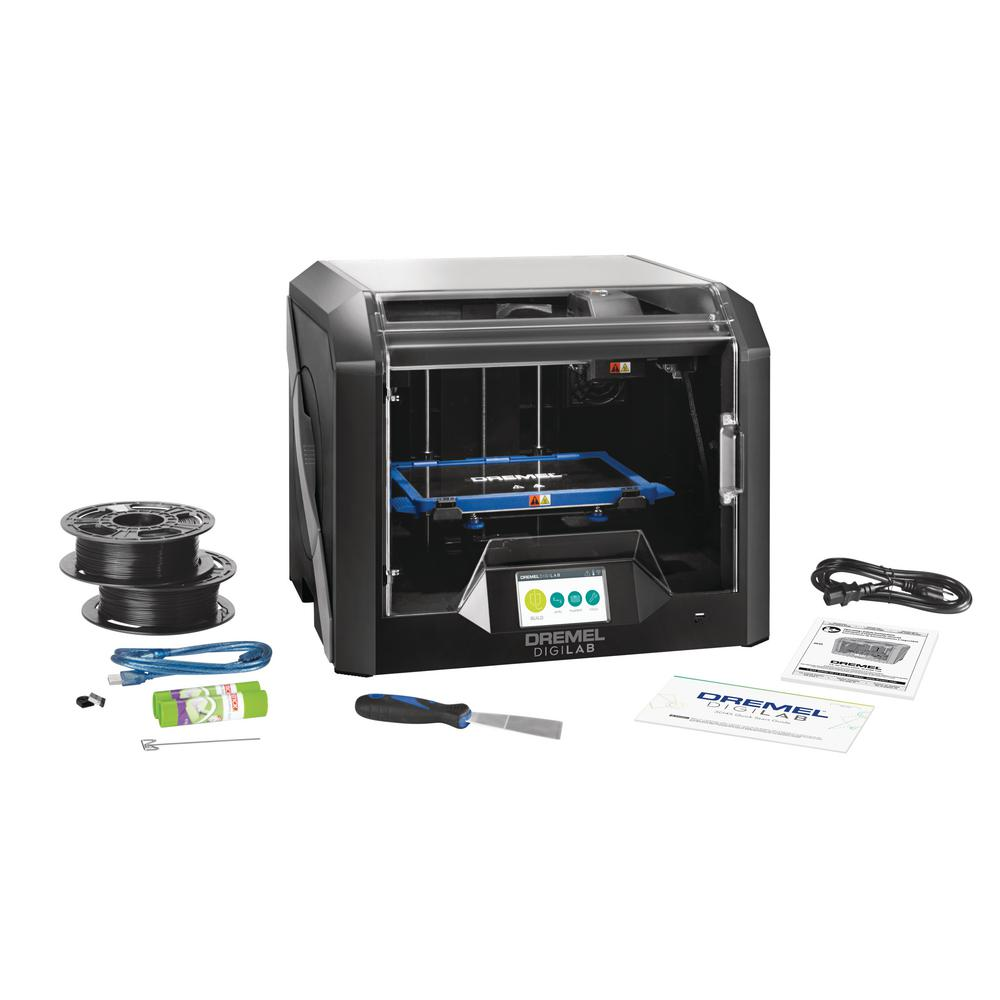 Dremel Digilab 3D45 Advanced Idea Builder 3D Printer with Built-In WiFi, Guided Leveling and RFID Filament Recognition