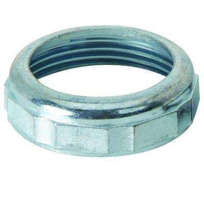 1-1/4 in. O.D. Compression x 1-1/4 in. FIP Die Cast Slip Nut in Rough Finish