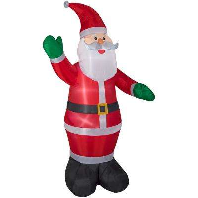 8.99 ft. Pre-lit LED Inflatable Santa Airblown