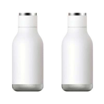 16 oz. White Urban Bottle (2-Pack)