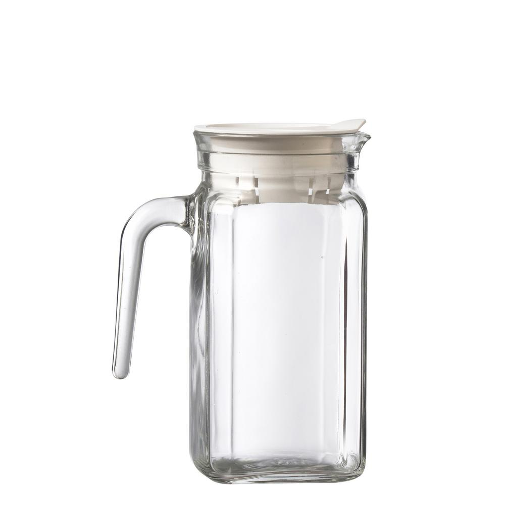 Igloo 17 oz. Clear Glass Pitcher with Plastic Lid