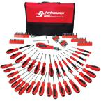 Screwdriver Set with Pouch (100-Piece)